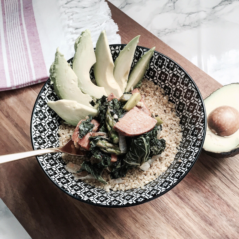 Vegan Turmeric & Cinnamon Buddha Bowl