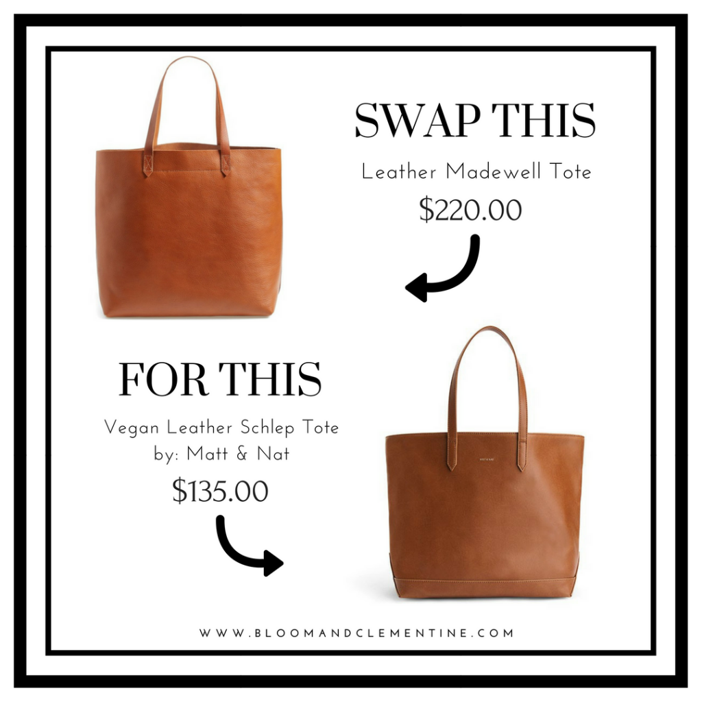 1. Leather Madewell Tote