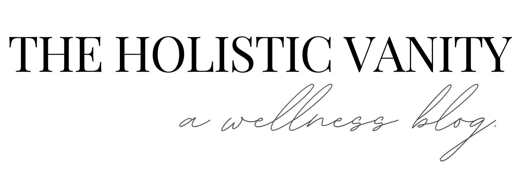 The Holistic Vanity